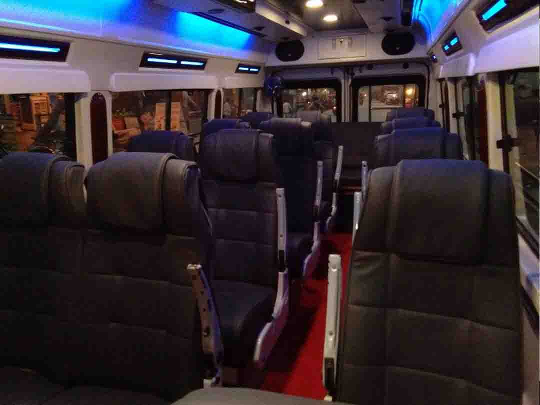 Luxury Tempo Traveller Hire
