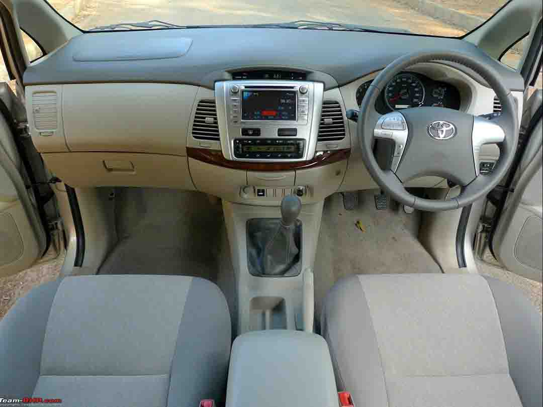 Innova crysta on hire for outstation